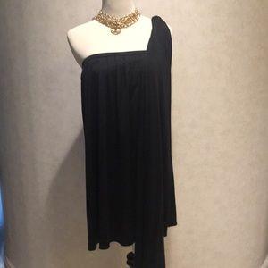 Elizabeth&James NWT Black  Dress w/ Sash. XS